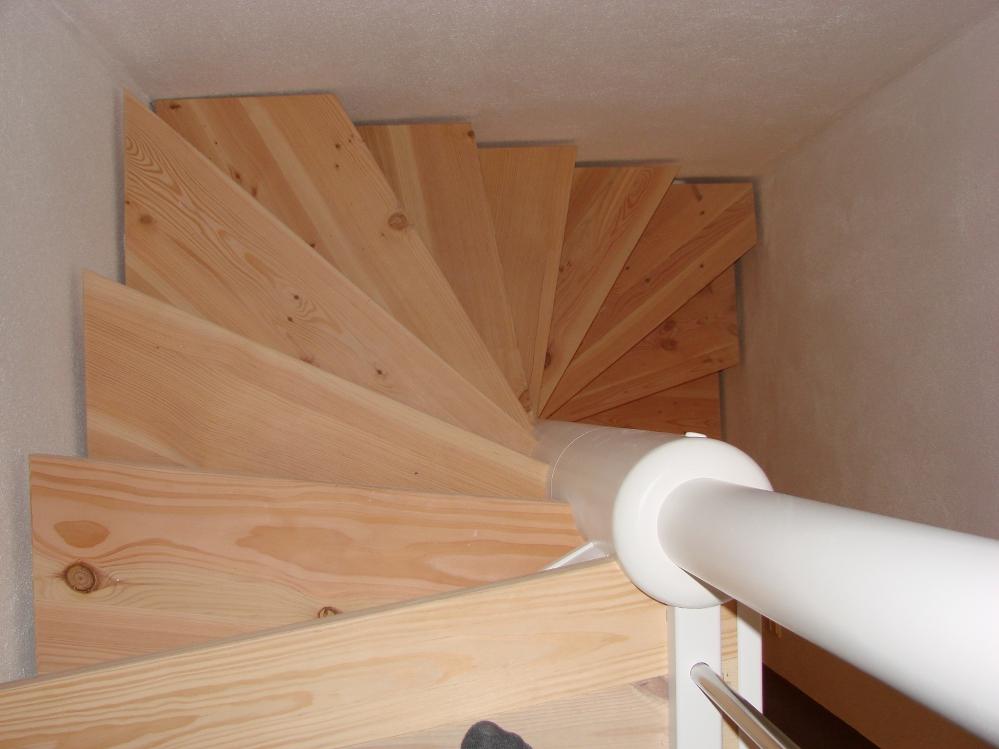 Spindeltrappe eller vindeltrappe til indend?rs - indvendig brug